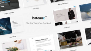 Bateaux WordPress Theme Review